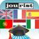 Jourist Vokabeltrainer. Westeuropa (AppStore Link)