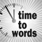 Die Uhr die Zeit schreibt (AppStore Link)