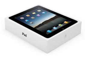Verpackung iPad