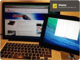 iDisplay Teaser – Vorstellung bei iPadBlog