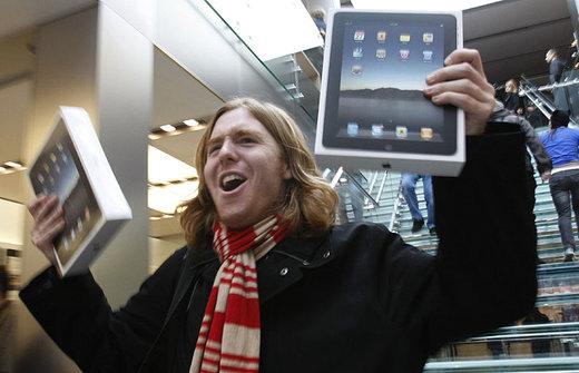 Zwei Millionen verkaufte iPads innerhalb von 60 Tagen