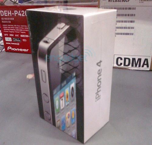 iPhone 4 bei Wahlmart in den USA zu kaufen