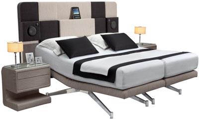 iCon iPad Dock/Bett Kombination