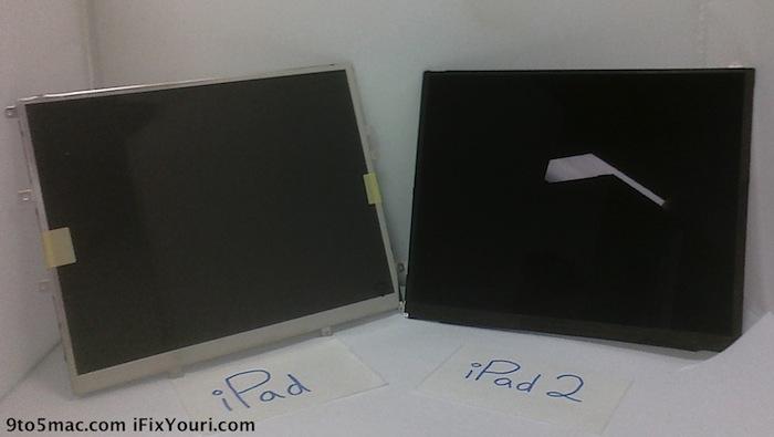 iPad2 Display Gerüchte
