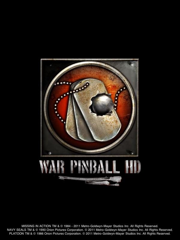 War pinball hd - новый удивительный пинбол, разработанный в сотрудничестве со студией метро голдвин майер
