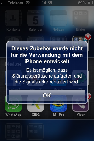 iPhone und iPad Pudding im Slot