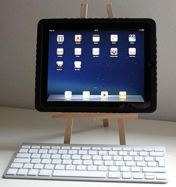 diy ipad halter ipad 2 halter selber bauen radio app f r das ipad. Black Bedroom Furniture Sets. Home Design Ideas