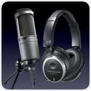 audio-technica Produkte führen zur Lösung eines mobilen Aufnahmestudios