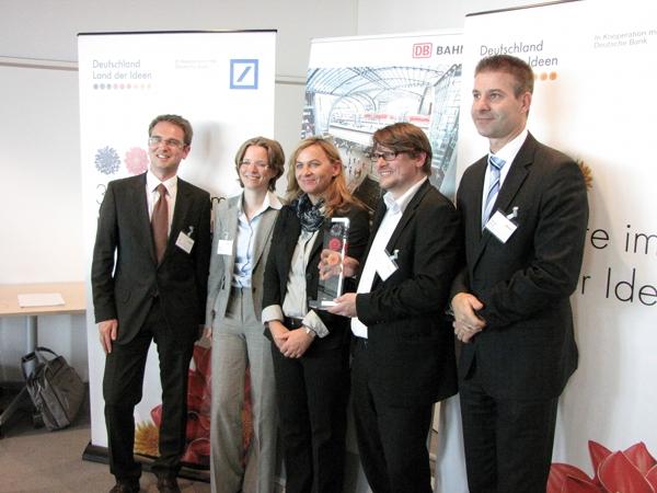 Preisverleihung - Deutschland Land der Ideen 2