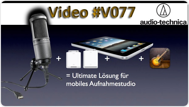 v077 wie ein externes usb mikrofon an das ipad. Black Bedroom Furniture Sets. Home Design Ideas