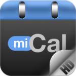 miCal HD für iPad und iPhone