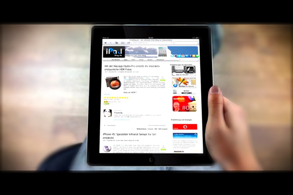 iPadBlog Video-Ad