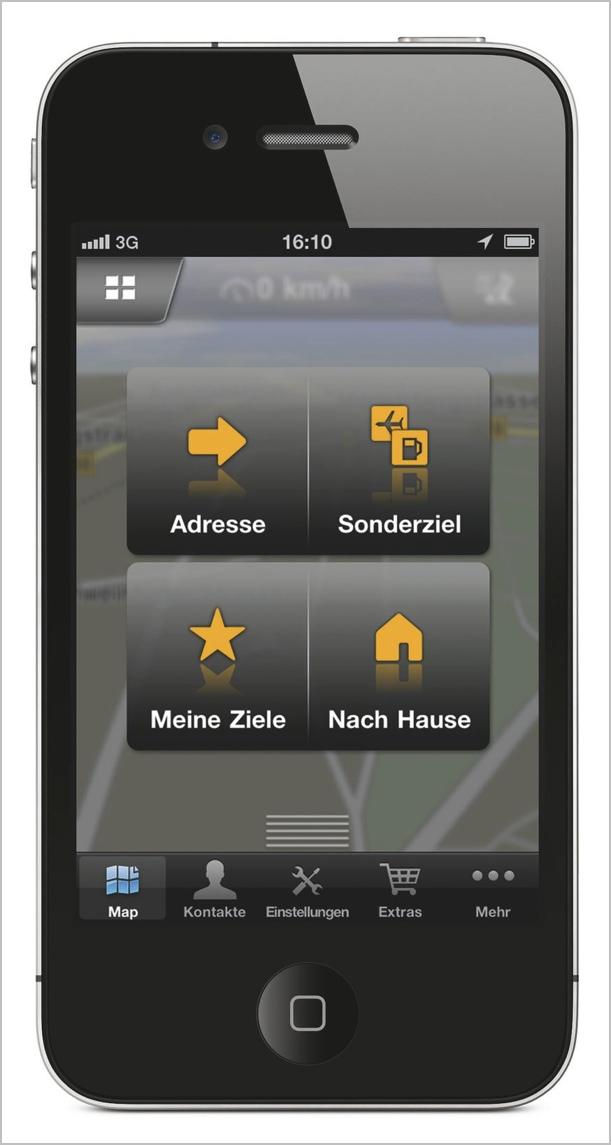 Neue Wege in der iPhone Navigation: NAVIGON