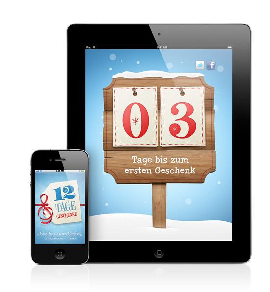 Der Apple Adventskalender 2011/2012