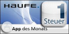 App des Monats Februar 2012 – Steuer1