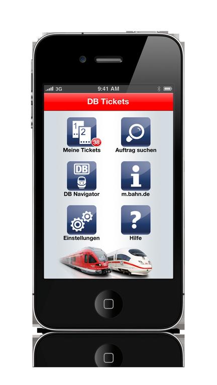 DB Tickets - Übersicht