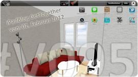 Titelbild zur 95. Videoepisode: Gestaltung und Planung von Wohnraum – der 9. iPadBlog GetTogether