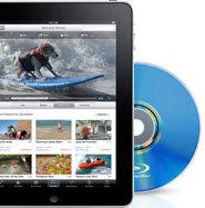 iPad mit Blu-ray? Nur in dieser Collage.