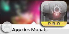 App des Monats Juli 2012 – Foscam Surveillance Pro