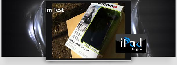 unterwegs grenzenlose freiheit das car kit f r iphone mit. Black Bedroom Furniture Sets. Home Design Ideas