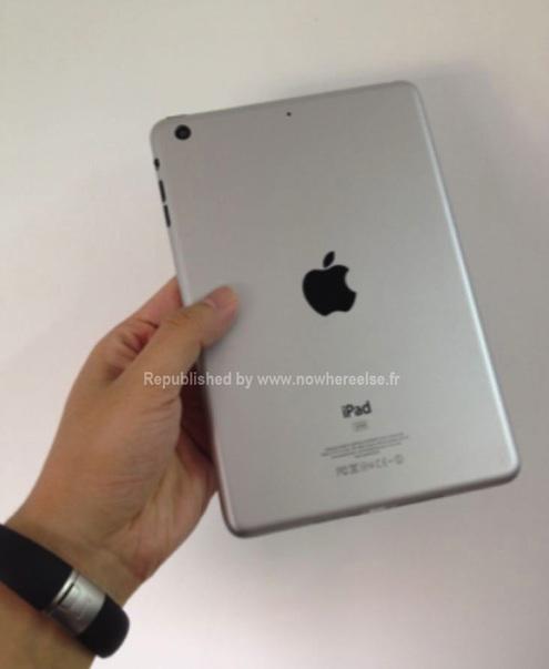 iPad Mini Mockup Rückseite