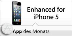 Die Apps des Monats - optimiert für das iPhone 5 im Oktober 2012