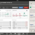Balda AG im Snapshot auf der Cortal Consors App für das iPad