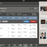 Cortal Consors App: Watchlist Übersicht