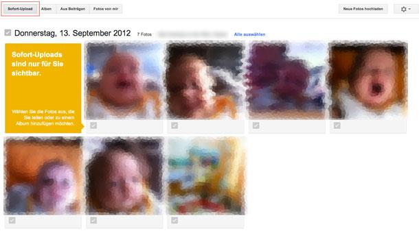 Wollt ihr wirklich neue fotos und videos automatisch in ein privates