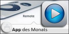 Die Apps des Monats - Remote im Dezember 2012 – Remote App