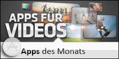Apps des Monats für Januar 2013 - Apps für Videos
