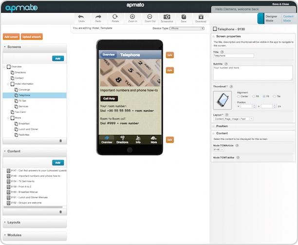 apmato Screenshot Nr. 2 auf iPadBlog.de