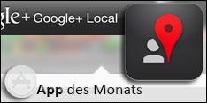 App des Monats März 2013 – Google+ Local
