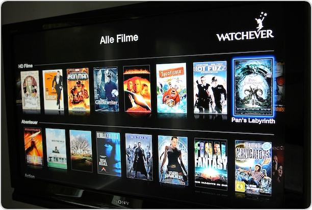Alle Filme bei Watchever im Überblick