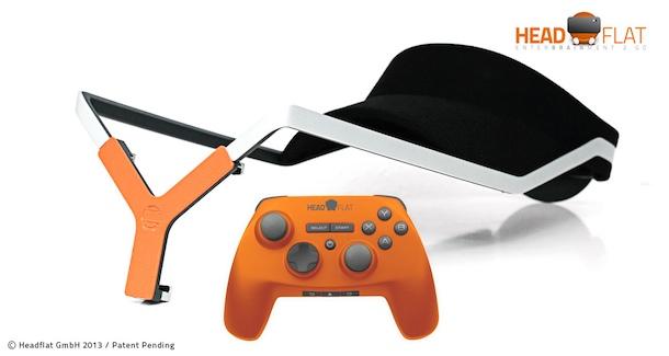 headflat mit Gamecontroller