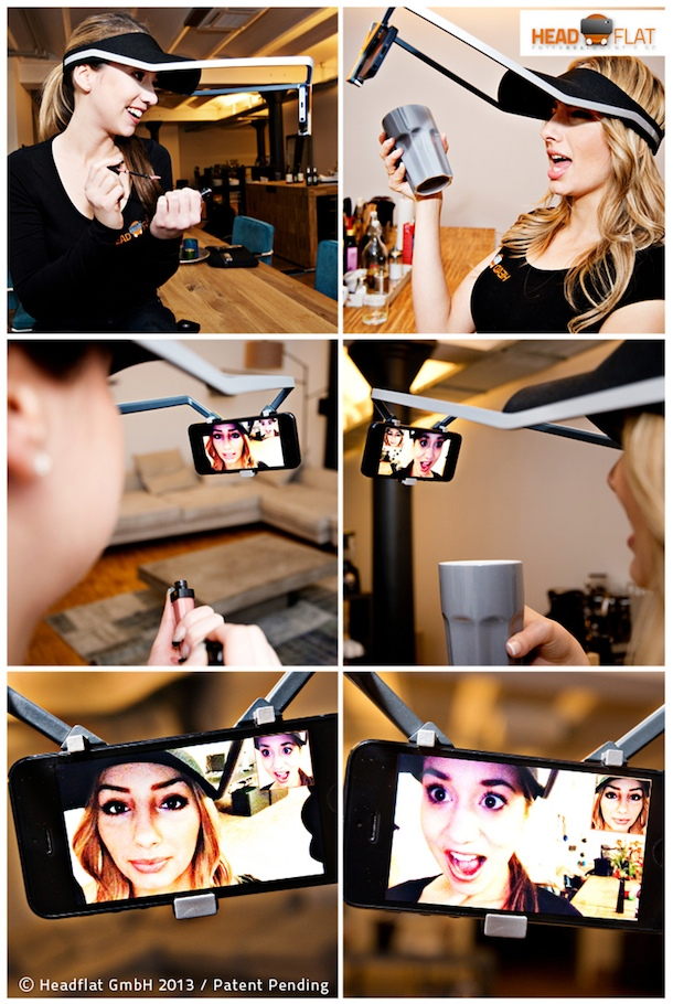 headflat beim Videochat