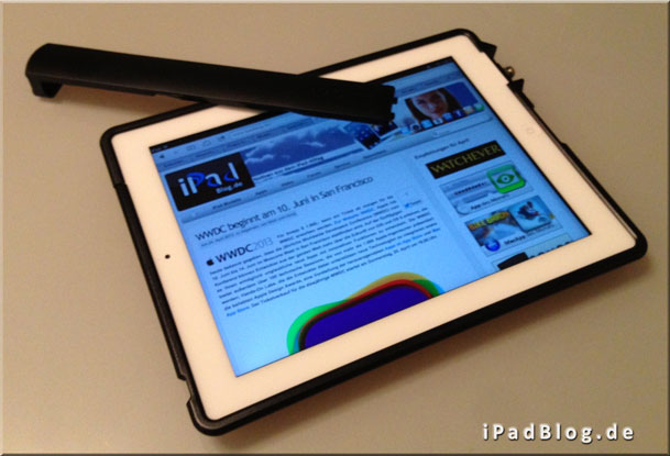 iPadBlog im SecureBack VESA montierbarer iPad Sicherungsrahmen