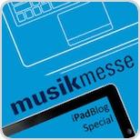 Logo Musikmesse iPadBlog Special