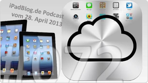 Titelbild zur 72. Audio-Episode auf unserem iPadBlog.de