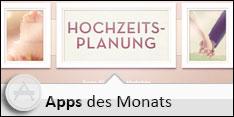 Apps des Monats Mai 2013 - Hochzeitsplanung