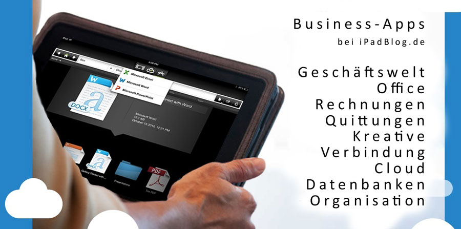 Business-Apps Banner auf iPadBlog 2013