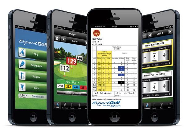Expert Golf 3.2: Diese App und ein iPhone - mehr braucht der Golfer nicht