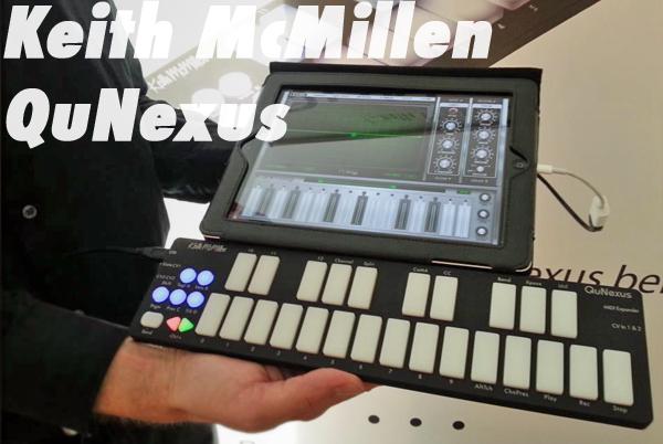 iPadBlog Keith McMillen QuNexus