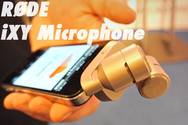 iPadBlog RODE iXY Microphone