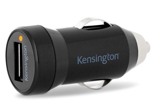 Kensington K39665EU PowerBolt Kfz-Ladegerät (1,0 Amp) mit Powerwhiz
