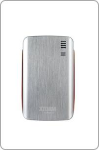 Icon für A-Solar AL370 Xtrom Power Bank tragbarer Li-Polymer Akku (7300mAh, microUSB) inkl. Adapter für Sony Ericsson/Samsung silber