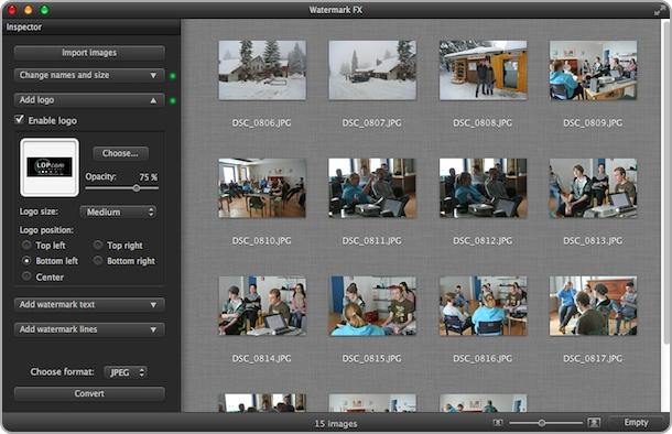 Watermark FX - Appsoft Studio