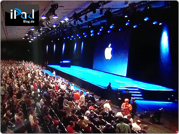 WWDC Stage am 10. Juni 2013