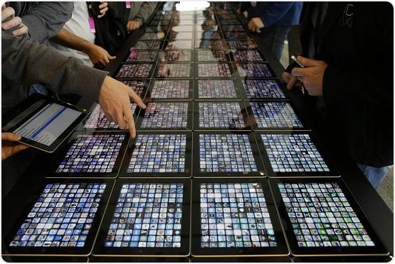 Associated Press - iPad-mini-Technik macht neues iPad schlank und leicht