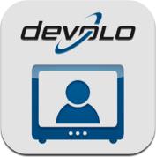 ICON der dLAN TV SAT App von devolo